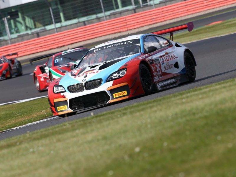 Rennfahrer David Schiwietz - Silverstone Rennen BMW M6 GT3