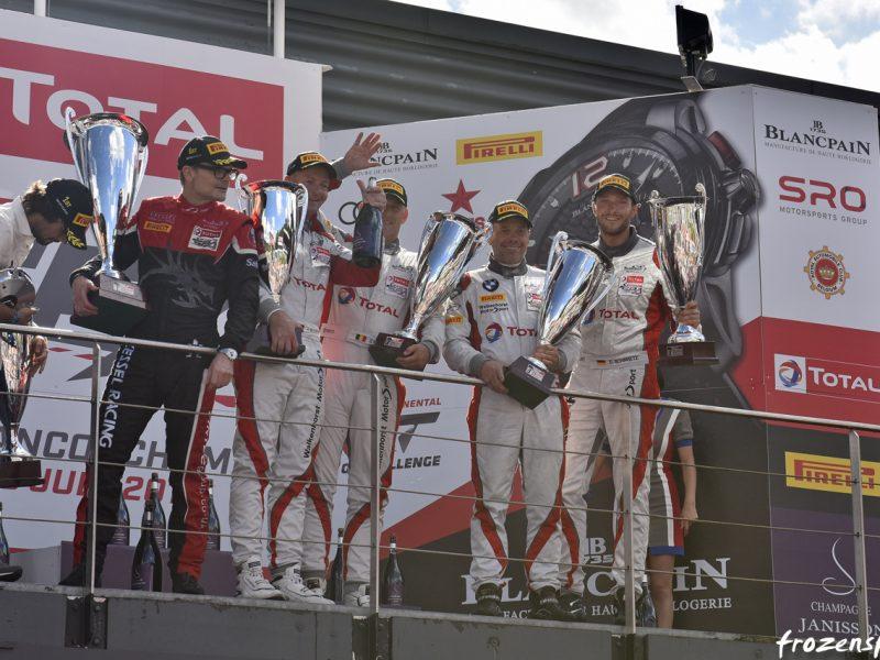 Rennfahrer David Schiwietz - Podium Spa GT3