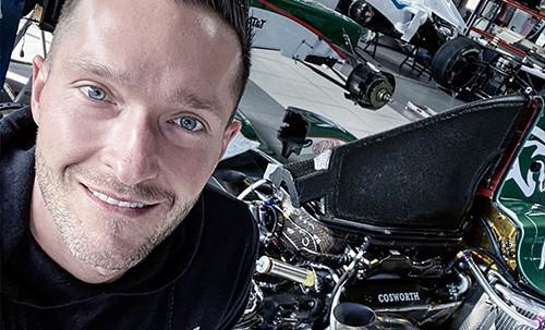 Rennfahrer David Schiwietz