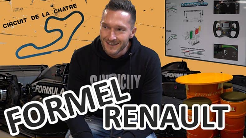 Rennfahrer David Schiwietz - Formel Renault