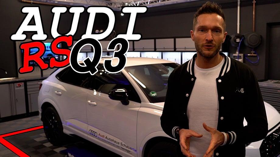 Rennfahrer David Schiwietz testet den neuen Audi RS Q3