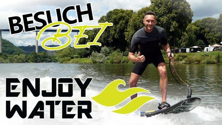 JetSurf bei EnjoyWater in Winningen - JetSurf, Jetski und Co. Wassersport auf der Mosel
